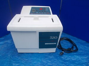 Branson 3210r dth Bransonic Ultrasonic Cleaner W Heater