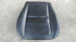 09 12 Ford Escape Driver Left Seat Bottom Cushion Pad Base Black Leather Vinyl