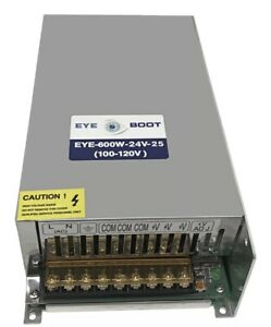 Eyeboot 24v 25a Dc Universal Regulated Switching Power Supply 600w For Cctv