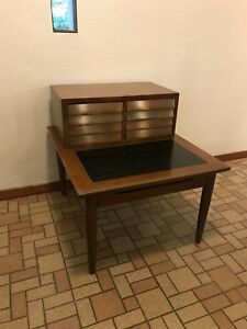 American Of Martinsville Lamp Side End Table Mid Century Danish Modern