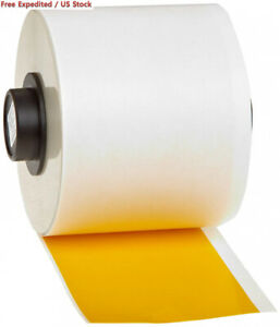 Brady Handimark B 595 Vinyl Film Yellow Indoor outdoor Tape 2 Width X 50
