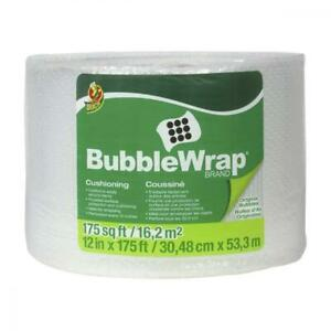 Duck Brand Bubble Wrap Roll 3 16 Original Cushioning 12 X 175