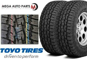 2 New Toyo Open Country A T Ii P275 60r20 114t All Terrain On Off Road Tires