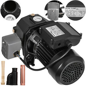 1 Hp Shallow Well Jet Pump W Pressure Switch 110v 750w Garden Agricultural