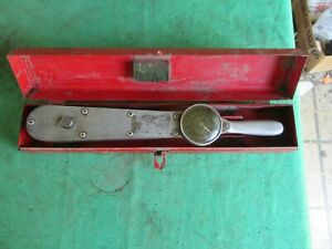 Pre Owned Snap On Torqometer Rt 1600 With Case Lot 19 33 10