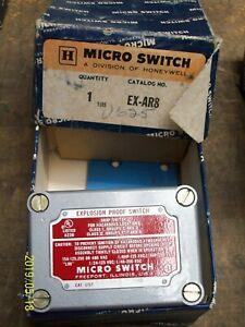 Micro Switch Ex ar8 Rotary Lever Snap Action Limit Switch 480vac 15a Honeywell