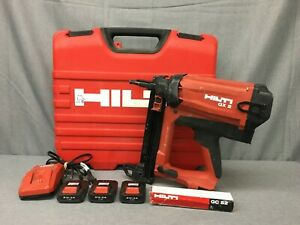 Used Hilti Gx 2 Gas actuated Fastening Tool Kit