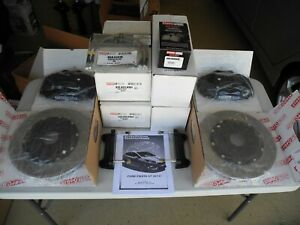 Stoptech Front Big Brake Kit 4 Piston Caliper Ford Fiesta Including St New Bbk