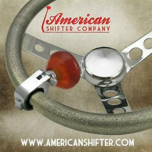 American Shifter Ascba10005 Amber Retro Series Suicide Brody Knob