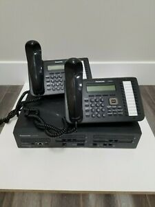 Panasonoc Kx ns700 Hybrid Ip pbx With 4 Panasonic Kx dt543 Phones
