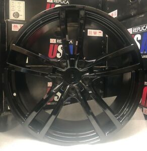 21 Wheels Fit Porsche Cayenne Gloss Black Panamera With Tires Audi Q7 Touareg