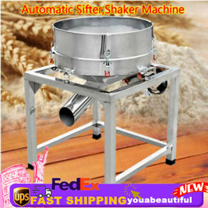 Industrial Automatic Sifter Shaker Machine Electric Vertical Vibration Motor New