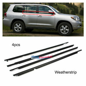 Weatherstrips Window Trim Belts For Toyota Land Cruiser Prado Lexus Gx470 03 09