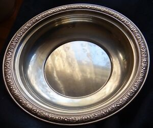 Sterling Silver Fruit Bowl Alvin Bridal Bouquetj