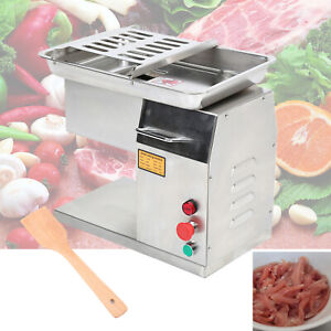250kg h Stainless Steel Commercial Meat Cutting Machine Cutter Slicer 3mm Beef