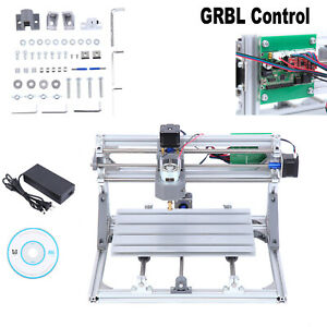 3018 Cnc Machine Router 3 axis Engraving Pcb Wood Carving Diy Milling Kit Grbl