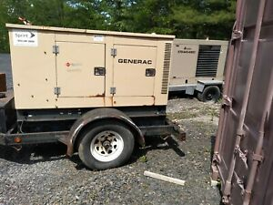 Generac Diesel Generator 14kw Mobile Low Price