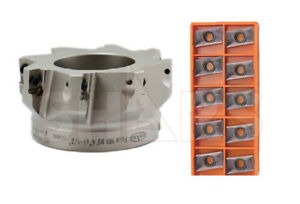 Shars 4 90 Indexable Face Mill Cutter 10pcs Apkt 1604 New 436 00 Off