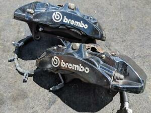 6 Piston Brembo Brake Calipers Pair Lh Rh Ford Mustang Shelby Gt 500 13 14