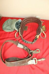 Buckingham E20 Right 11 85 Pole Climbing Body Tool Belt W d 2 86 Pole Strap