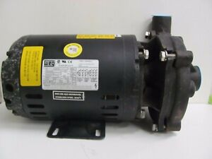 Cast Iron 1 Hp Centrifugal Pump 4tu56 230 460 Voltage 3 7 1 85 Amps