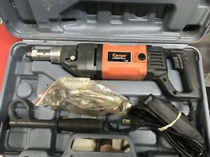 Cayken Scy 18 2ebm 5 Wet Dry Handheld Diamond Core Drill Rig 2 5hp 1900w Drill