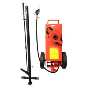 Auto Air Hydraulic Floor Jack 22 Ton Car Truck Suv Jack Stand Lift Tool Red