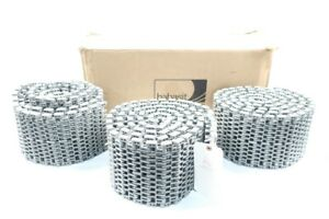 Box Of 3 Habasit Grey Conveyor Chain 10ft X 7 1in