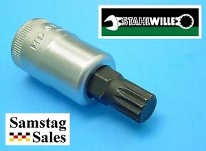 Stahlwille Xzn 12 Triple Square Socket 1 2 Drive M12 Made In Germany 54x M12