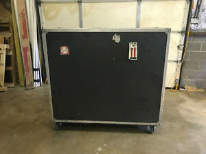 Caisse Design Inc High Quality Rolling Shipping Case 58 w X 24 d X 48 t