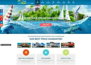 Automated Travel Website Creation For Passive Income Streams bronze Package