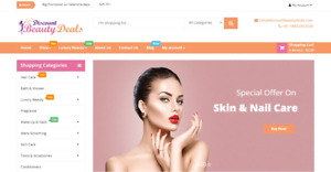 Build Money Making Beauty Store Turnkey Business Website bronze Package