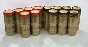Special Edition   coca cola eurovision gold 2019 can   tel aviv israel &gift