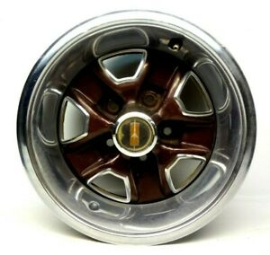 Oldsmobile 14 X 6 Rally Wheel Olds Cutlass 14x6 With Trim Ring And Center Cap