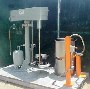Morehouse cowles 47 whv 10 Hp Dissolver Mixer Disperser Nice Ss Tank