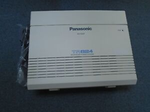Panasonic Kx ta824 Advanced Hybrid System Cabinet 3 Lines X 8 Station W Cover
