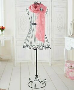 Metal Vintage Boutique Dress Form Mannequin Display Fashion Decorative Stand