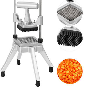 1 4 Commercial Vegetable Fruit Dicer Food Cutter Tomato Chopper Tool Kitchen