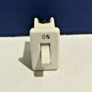 Leviton Ivory Snap in Vintage Single Convenience Toggle Switch 714 00 On off New