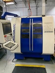 Rollomatic 528 xs 6 Axis Cnc Tool Cutter Grinder Walter Grinding