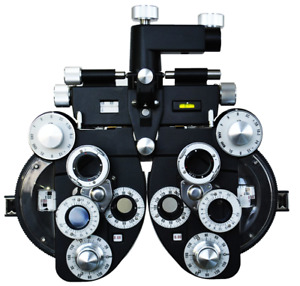 Ophthalmic View Vision Tester Black Optical Manual Refractor Optometry Vt 50