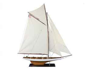 Columbia 60 Large Wooden Model Ship Model Sailing Ship Model Sailboat