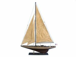 Rustic Ranger 35 Wood Sailing Boat Wooden Ship Model Model J Yacht Not