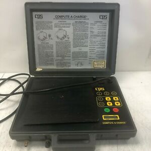 Cps Products Cc220 Compute a charge Refrigerant Charging Scale Tested