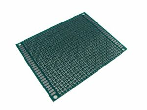 7 9cm Double Side Prototype Board Perforated 0 1 Plated Breadboard Pack Of 2