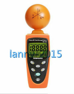 1pc Tenmars Tm 195 Digital 3 axis Emf Rf Radiation Tester