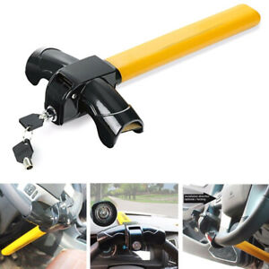 Auto Car Anti theft Security Rotary Steering Wheel Lock Serviceable Universal
