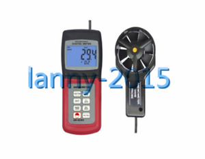 1pc Am4836v Digital Anemometer Air Flow Wind Speed Meter Tester