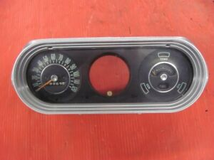 62 63 64 65 Chevy Ii Nova Dash Cluster W Gauges Speedo Fuel 1962 1963 1964 1965