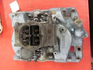 Weiand 7286 Aluminum Intake Manifold Pontiac 389 400 455 With Holley Carb 65 Up